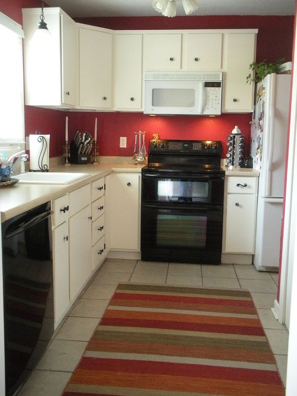 For One It S Hard Kitchen Red Accent